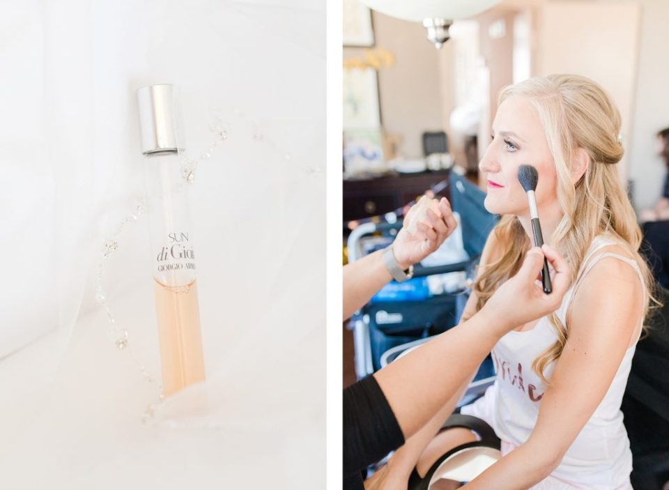 Bride Getting Ready at Bayfront Club Wedding by Costola Photography