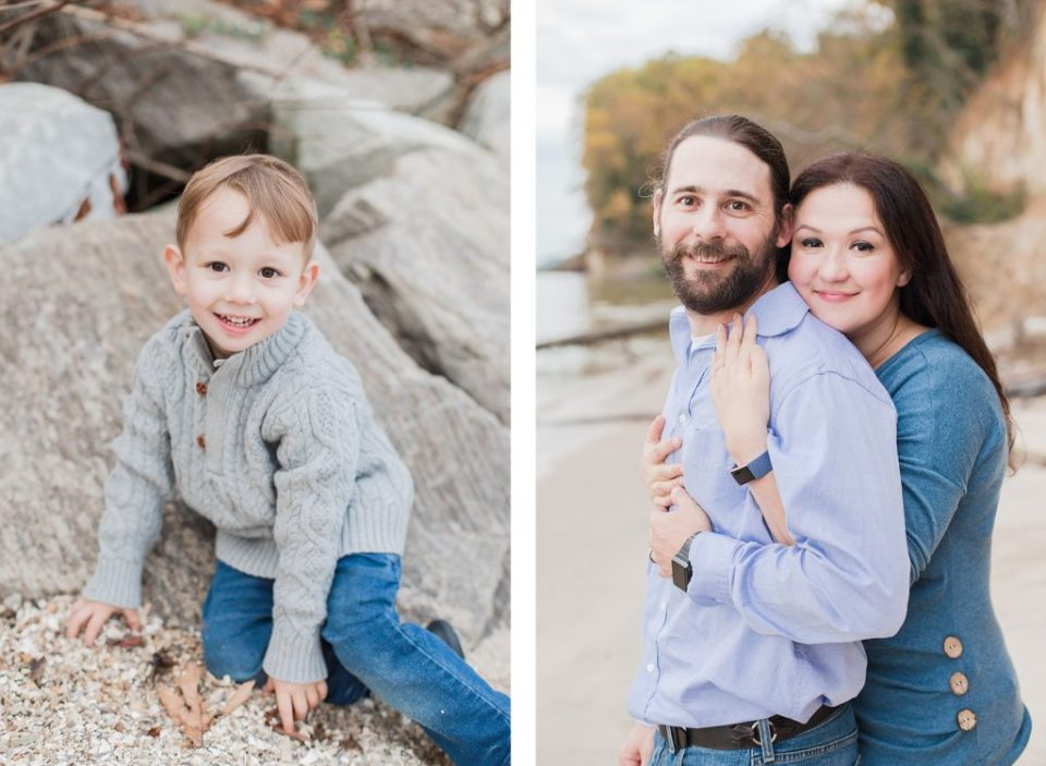 Chesapeake Beach Family Session by Costola Photography