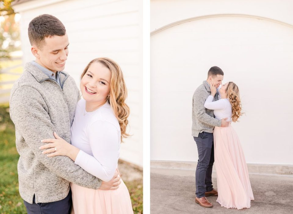 Fall Engagement Session at Jefferson Patterson Park by Costola Photography