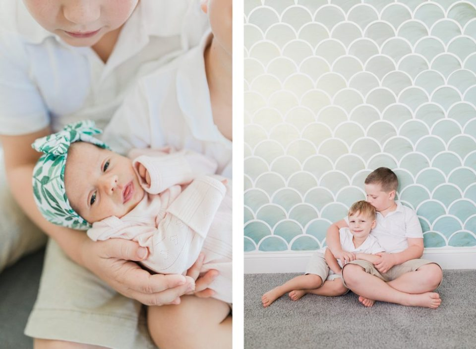 Southern Maryland In Home Family Session by Costola Photography
