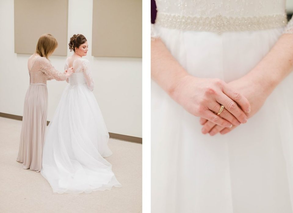 Winter Wedding at The Villa by Costola Photography