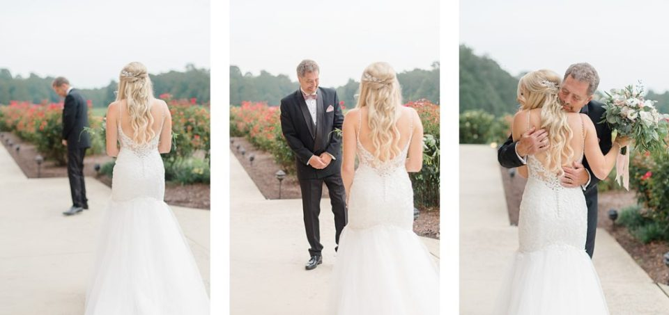 Father Daughter First Look by Costola Photography