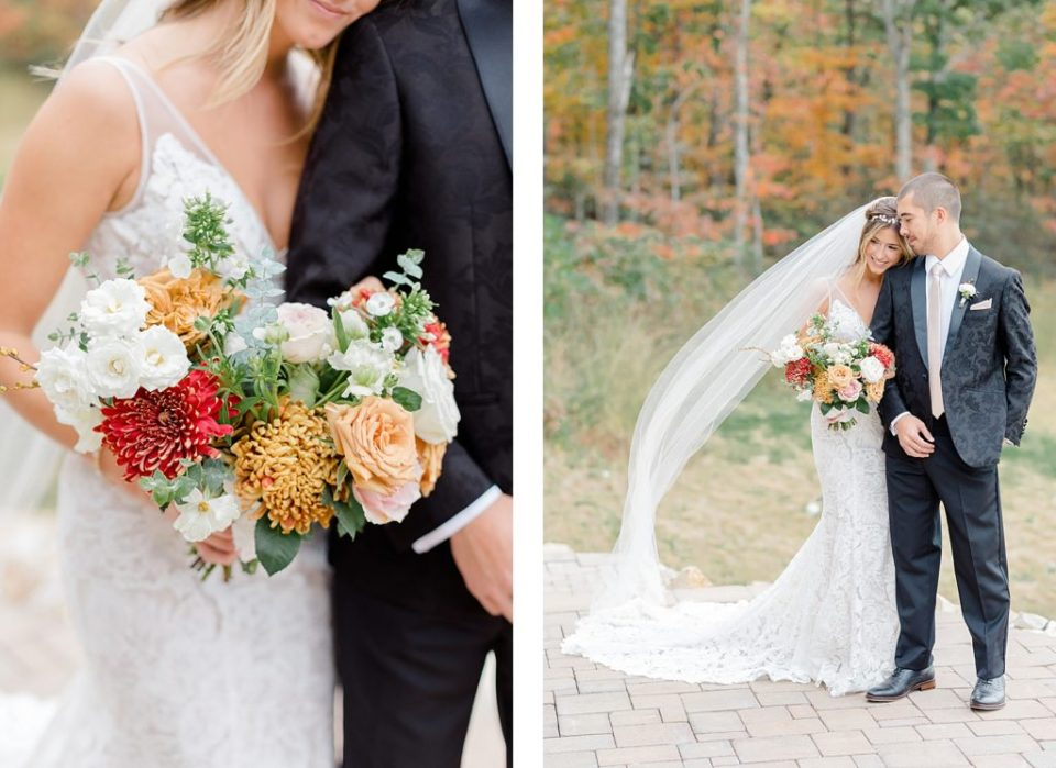 First Look at Boho Chic Shenandoah Woods Wedding