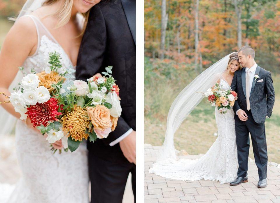 First Look at Boho Chic Shenandoah Woods Wedding