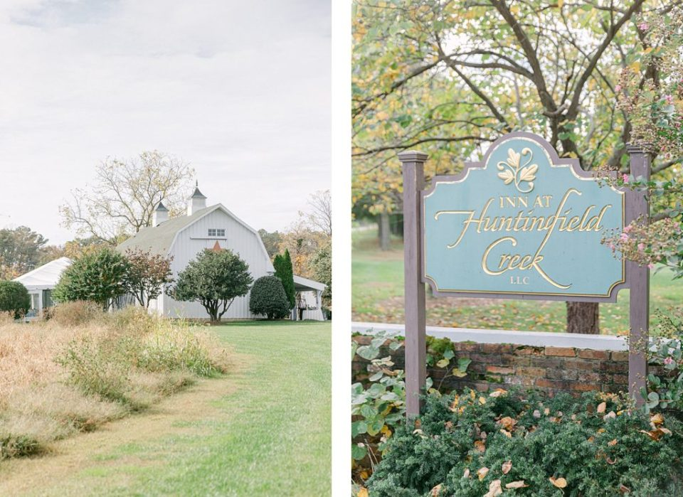 Fall Wedding at the Inn at Huntingfield Creek by Maryland Wedding Photographer Costola Photography