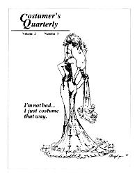 Costumers Quarterly Vol 2 No 3