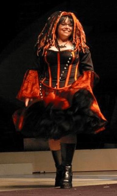 Dawn in costume