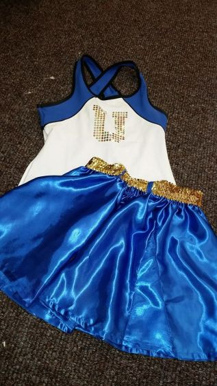 Dance Team outfit in Legally Blonde