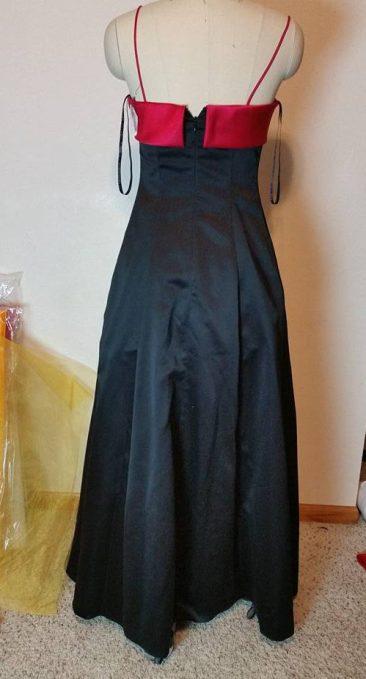 back of black dress #2