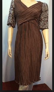 brown richiline new york dress