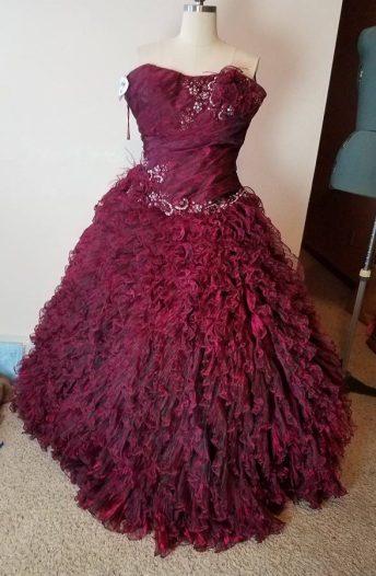 ball gown original dress front