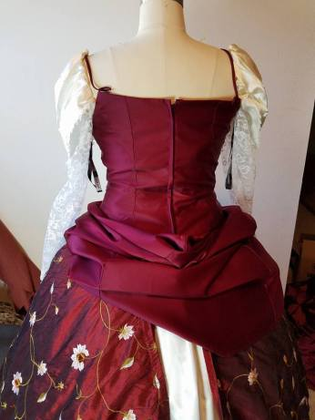 base dress back