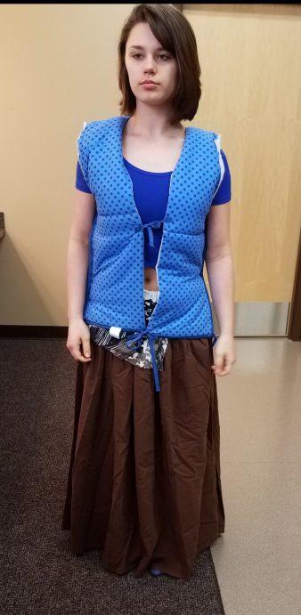 front vest, Marie in Cinderella