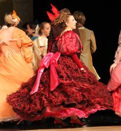 motion of dress