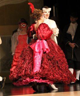 pink ruffled petticoat, charlotte