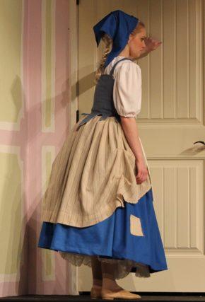 petticoat pouch dress, Cinderella