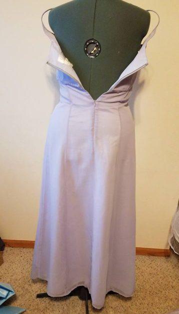 back of base dress #1