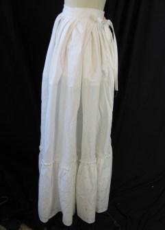 side of petticoat
