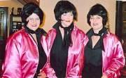 pink ladies costume hire vintage