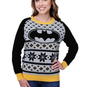 Batman Ugly Christmas Sweater for Women