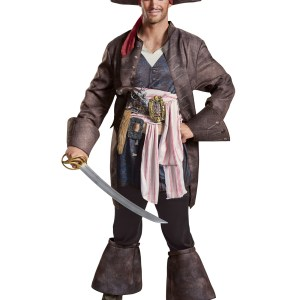 Captain Jack Sparrow Deluxe Costume for Men