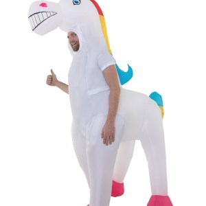 Giant Inflatable Unicorn Costume for Adults