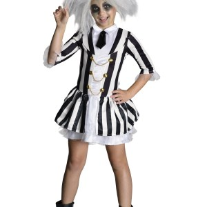 Girls Beetlejuice Costume