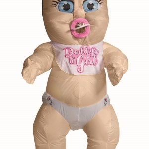 Inflatable Baby Girl Costume for Adults