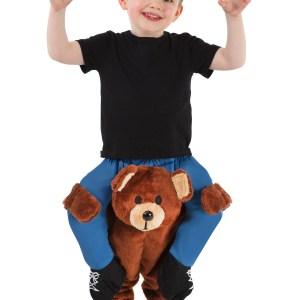 Teddy Bear Piggyback Costume for a Toddler