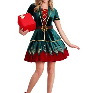 Women's Deluxe Elf Costume