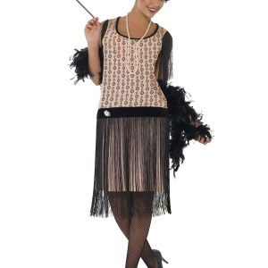 Women's Plus Size 1920s Coco Flapper Costume 1X 2X 3X 4X