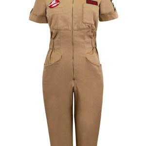 Womens Ghostbusters Venkman Romper Costume