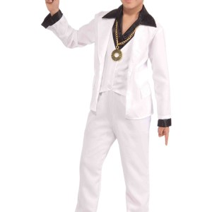 70s Disco Fever Costume for Boys