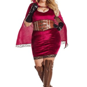 Sexy Red Riding Hood Women's Plus Size Costume