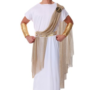 Men's Plus Size Zeus Costume 2X
