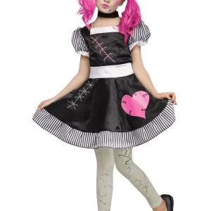 Broken Doll Costume for Girls