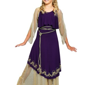 Aphrodite Goddess Costume for Girls