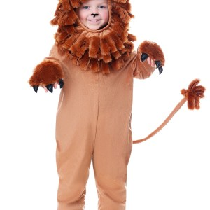 Lovable Lion Costume for a Toddler