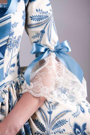 Détails robe 18ème sciecle (2)