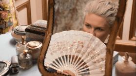 """Eventail du film """"Marie-Antoinette"""" de Sofia Coppola"""