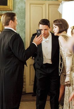 Sur le tournage de Downton Abbey (21)