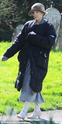 Sur le tournage de Downton Abbey (22)