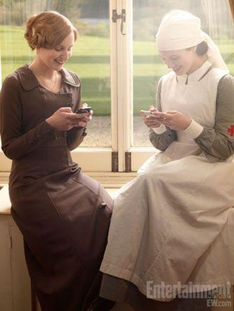 Sur le tournage de Downton Abbey (32)