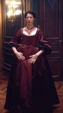 Robe portée par Caitriona Balfe