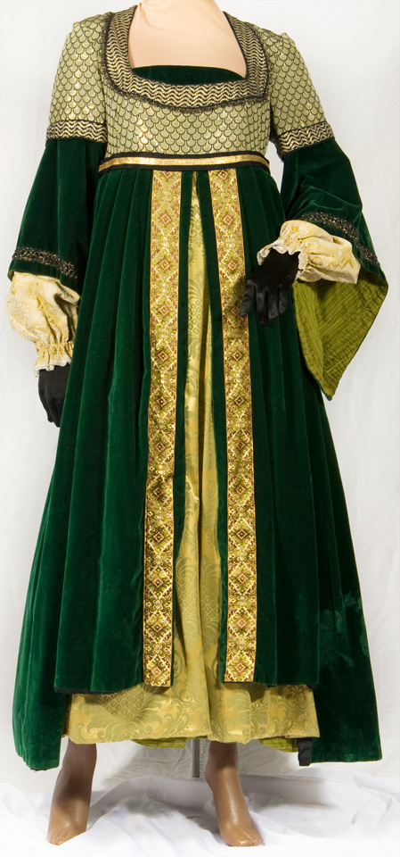 Renaissance Spanish Gowns