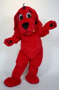 Clifford the Big Red Dog | Custom Mascot | Costume Rental ...