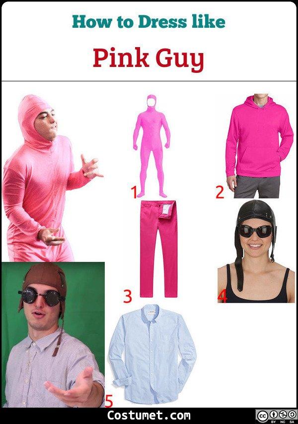Pink Suit Meme : Guy/Filthy, Frank, Costume, Cosplay, Halloween