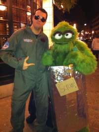 Cool Oscar the Grouch Costume - Costume Yeti