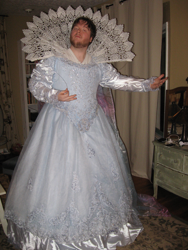 Elizabethan Costume From Two Used Wedding Dresses  Costumiers Blog