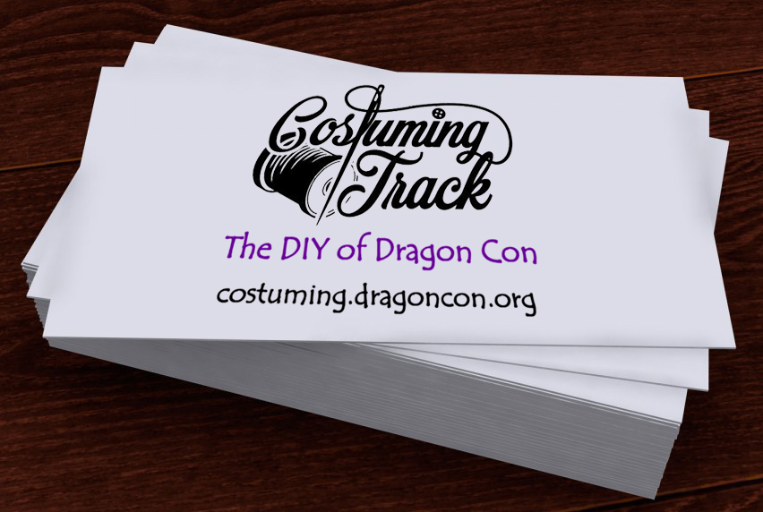 Pin Your Card for Charity – Costuming Track